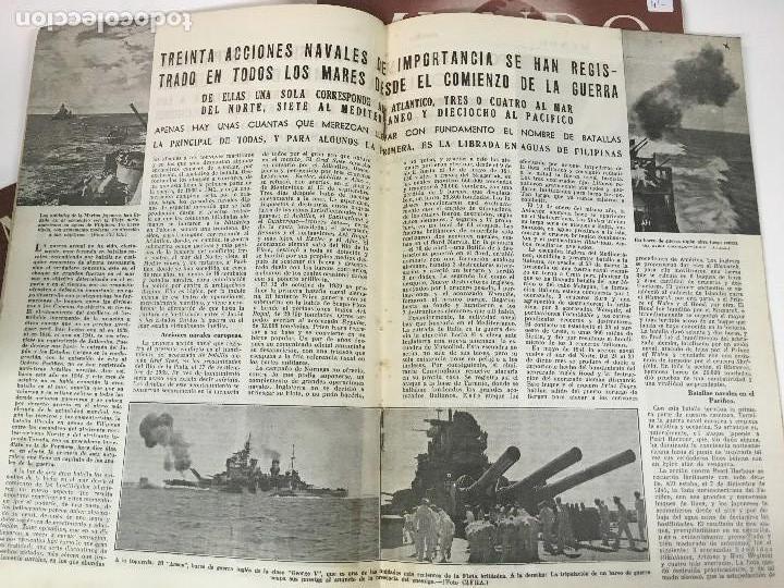 Militaria: LOTE 8 Revistas de política MUNDO nums 234 270 311 312 318 322 407 y 427 años 1944 a 1948 - Foto 9 - 95911343