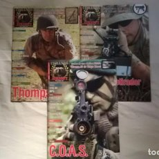 Militaria: COMANDO AIRSOFT - LOTE 3 PRIMEROS NUMEROS. Lote 95956835