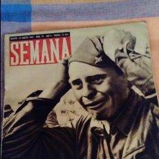 Militaria: REVISTA SEMANA AÑO 1941 NÚMERO 78. Lote 96987115