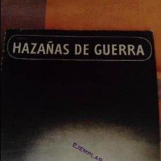 Militaria: REVISTA HAZAÑAS DE GUERRA . Lote 96989303