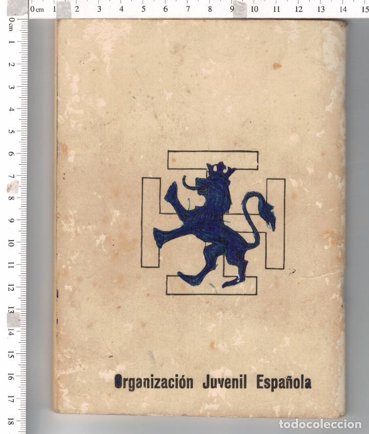 Militaria: OJE - ORGANIZACION JUVENIL ESPAÑOLA - PROEL SANITARIO - AIRE LIBRE 10 - 1975 . - Foto 2 - 97169779
