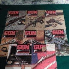 Militaria: GUN EL MUNDO DEL ARMA LIGERA - LOTE DE 8 REVISTAS - NUMEROS 21,22,23,25,26,29,31 Y 32 . Lote 97349647
