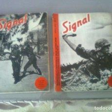 Militaria: SIGNAL SELECCIÓN DE LA REVISTA DE PROPAGANDA NAZI 1940-1945. COMPLETAS ED. EL ARQUERO. Lote 97988623