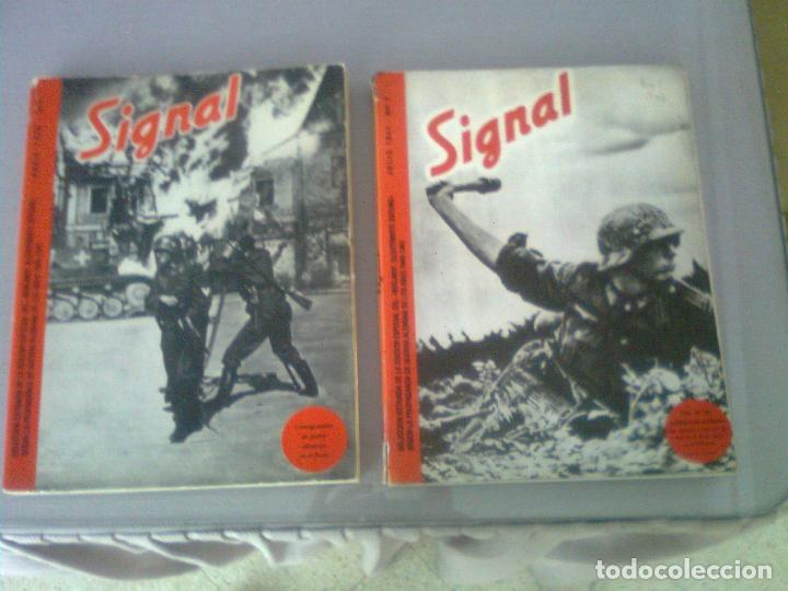 Militaria: SIGNAL SELECCIÓN DE LA REVISTA DE PROPAGANDA NAZI 1940-1945. COMPLETAS ED. EL ARQUERO - Foto 2 - 97988623