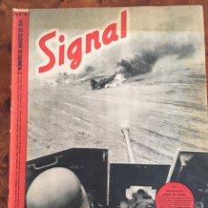 Militaria: SIGNAL REVISTA ALEMANA DE GUERRA. EDICIÓN ESPAÑOLA. 2 NÚMERO DE JULIO DE 1941. Lote 98763308