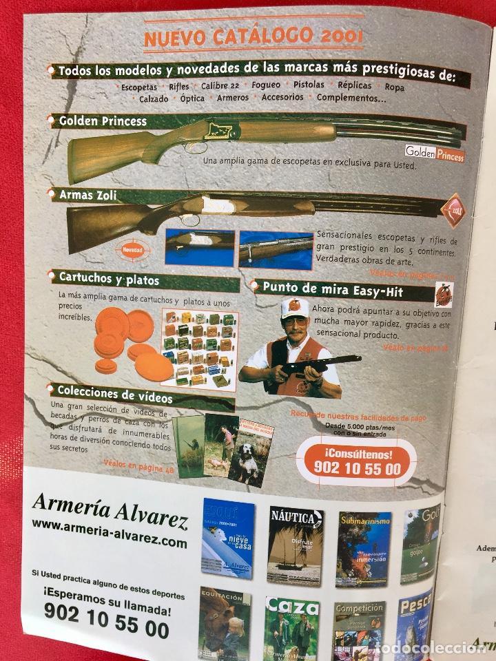 Militaria: Competición catalogo de armas 2001 complementos caza , visores rifles 50 pág armería alvarez - Foto 4 - 98794279