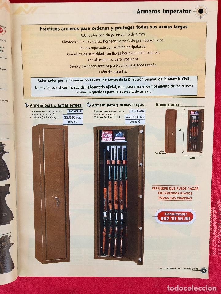 Militaria: Competición catalogo de armas 2001 complementos caza , visores rifles 50 pág armería alvarez - Foto 7 - 98794279