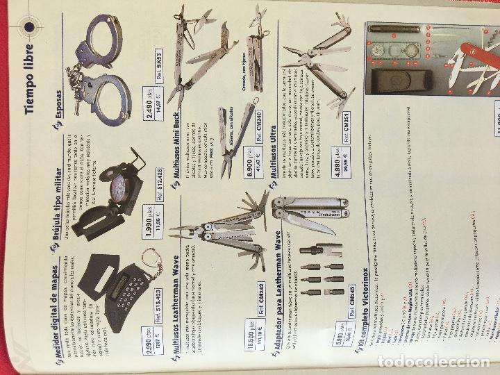 Militaria: Competición catalogo de armas 2001 complementos caza , visores rifles 50 pág armería alvarez - Foto 9 - 98794279