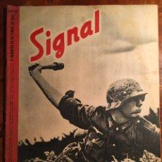 Militaria: SIGNAL. REVISTA ALEMANA DE GUERRA, EDICIÓN ESPAÑOLA. 2 NÚMERO DE OCTUBRE DE 1941.. Lote 98889678