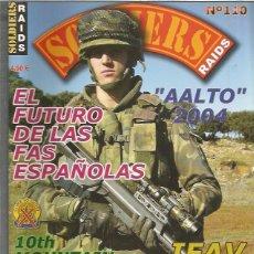 Militaria: SOLDIERS RAIDS 110. Lote 99174175