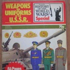 Militaria: MUY COMPLETA REVISTA BRITÁNICA DE 1975. MONOGRAFICO SOBRE EL EJÉRCITO SOVIETICO. URSS. GUERRA FRIA.. Lote 99311063