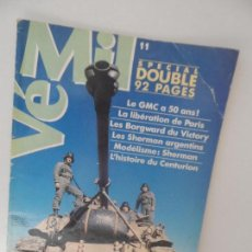 Militaria: VÉMIL SPECIAL 92 DOUBLE PAGES Nº 11. Lote 99411663