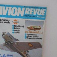 Militaria: AVION REVUE INTERNACIONAL Nº 3. Lote 99411927