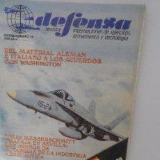 Militaria: DEFENSA REVISTA INTERNACIONAL DE EJERCITOS Y TECNOLOGIA N 15. Lote 99412427