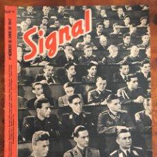 Militaria: SIGNL MAGAZINE . 1 NÚMERO DE JUNIO DE 1942. SP N.11. Lote 100301535