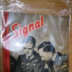 Militaria: REVISTA SIGNAL Nº12 -JUNIO DE 1942. Lote 100698131