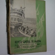 Militaria: REVISTA GENERAL DE MARINA. MARZO 1942. Lote 101124215
