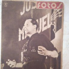 Militaria: PERIÓDICO FOTOS. 18 NOVIEMBRE 1939.. Lote 101377115