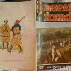 Militaria: ESPAÑA EN SUS HEROES . Nº 7 . CONTRAPORTADA : OFICIAL Y CABO DE REGULARES . 1969. Lote 147770254