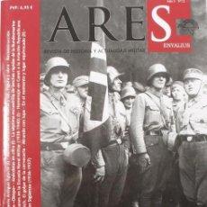 Militaria: FASCÍCULO ARES. Nº 12. LANCHAS RÁPIDAS BUNDESMARINE, INSTRUCTORES ALEMANES 1938-40, TRENES BLINDADOS. Lote 106598415