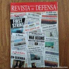 Militaria: GUERRA DEL GOLFO IRAK - REVISTA DEFENSA - Nº 181 AÑO 2003 - BIN LADEN. Lote 107252211