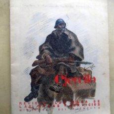 Militaria: REVISTA ILUSTRADA DE LAS ARMAS Y SERVICIOS. MINISTERIO DEL EJERCITO. AÑO VIII.NUMERO 88. MAYO, 1947. Lote 107412707