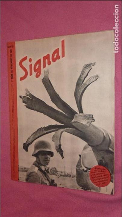Militaria: REVISTA SIGNAL noviembre de 1941 - Foto 2 - 108934431