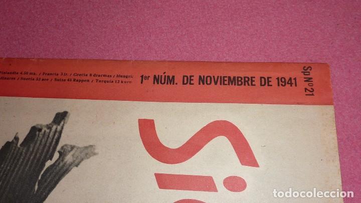 Militaria: REVISTA SIGNAL noviembre de 1941 - Foto 5 - 108934431