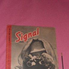 Militaria: REVISTA SIGNAL ENERO DE 1943. Lote 108934835