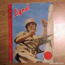 Militaria: SIGNAL Nº 1 -1945 D - EDICION ORIGINAL ALEMANA!! REVISTA ALEMANA GERMAN PROPAGANDA MAGAZINE. Lote 109265943