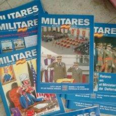 Militaria: 20 EJEMPLARES DISTINTOS DE LA REVISTA MILITARES. Lote 109435868