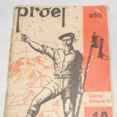 Militaria: PROEL SANITARIO, AIRE LIBRE, Nº 10, DE LA O.J.E., 1975. Lote 110096023