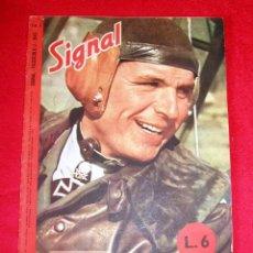 Militaria: SIGNAL Nº 3 1945 I ED. TALIANA REVISTA ALEMANA, II GUERRA MUNDIAL III REICH RARO . Lote 110221651
