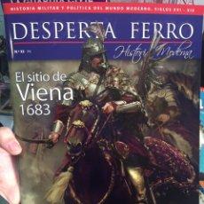 Militaria: DESPERTA FERRO HISTORIA MODERNA Nº32 EL SITIO DE VIENA 1683. Lote 123552027