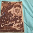 Militaria: EXPOSICION DE GUERRA ..20 AGOSTO 1938..SEMANAL NACIONAL FOTOS.. Lote 110985495