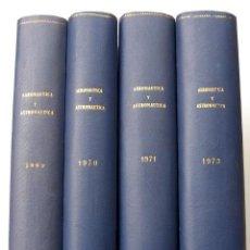 Militaria: REVISTA DE AERONÁUTICA Y ASTRONÁUTICA. 6 TOMOS. AÑOS 1969, 1970, 1971, 1972, 1973 Y 1974. Lote 111300335
