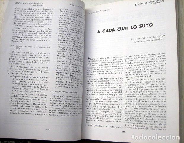 Militaria: Revista de aeronáutica y astronáutica. 6 tomos. Años 1969, 1970, 1971, 1972, 1973 y 1974 - Foto 4 - 111300335