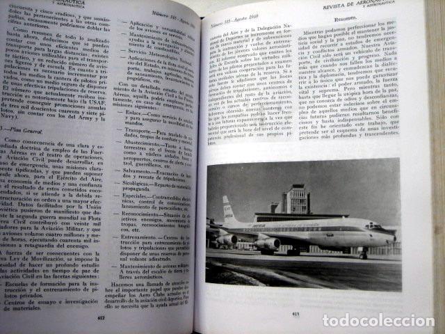Militaria: Revista de aeronáutica y astronáutica. 6 tomos. Años 1969, 1970, 1971, 1972, 1973 y 1974 - Foto 5 - 111300335