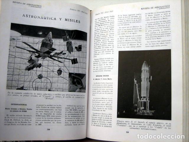Militaria: Revista de aeronáutica y astronáutica. 6 tomos. Años 1969, 1970, 1971, 1972, 1973 y 1974 - Foto 7 - 111300335