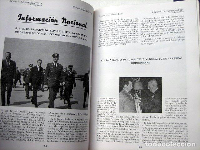 Militaria: Revista de aeronáutica y astronáutica. 6 tomos. Años 1969, 1970, 1971, 1972, 1973 y 1974 - Foto 9 - 111300335