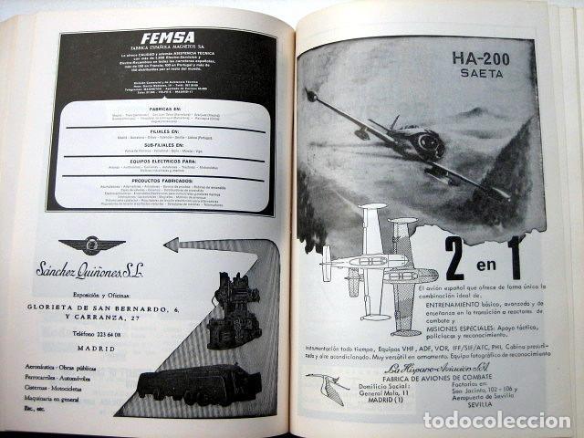 Militaria: Revista de aeronáutica y astronáutica. 6 tomos. Años 1969, 1970, 1971, 1972, 1973 y 1974 - Foto 13 - 111300335