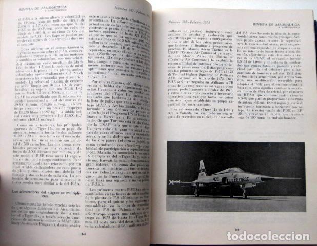 Militaria: Revista de aeronáutica y astronáutica. 6 tomos. Años 1969, 1970, 1971, 1972, 1973 y 1974 - Foto 15 - 111300335