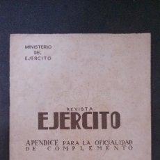 Militaria: REVISTA EJERCITO Nº 6-OCTUBRE 1944. Lote 111846503