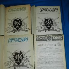 Militaria - (M) REVISTA CONTRACARRO , REVISTA DEL BATALLON DE C.C.C. 1955 , DEL NUM 1 AL 45 , FALTAN ALGUNOS NUM - 111856579