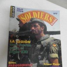 Militaria: SOLDIERS - REVISTA Nº 7 LA LEGION. Lote 111928519