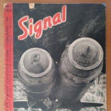 Militaria: REVISTA SIGNAL FEBRERO 1941 EN ALEMAN Y CASTELLANO II GUERRA MUNDIAL. Lote 112229283