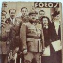 Militaria: L-4700. FOTOS. SEMANARIO GRÁFICO NACIONAL-SINDICALISTA. GUERRA CIVIL. Nº 125. 18.07.1939. Lote 112536251