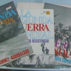 Militaria: LOTE DE 3 FASCICULOS DE LA IIª GUERRA MUNDIAL. Nº 46, 47 Y 48 .. DE CODEX , 1967. Lote 113286575