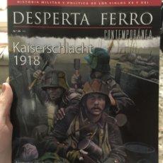 Militaria: REVISTA DESPERTA FERRO CONTEMPORÁNEA Nº26 KAISERSCHLACHT 1918. Lote 136818856