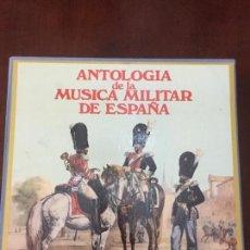 Militaria: ANTOLOGIA DE LA MUSICA MILITAR DE ESPAÑA. Lote 114379095